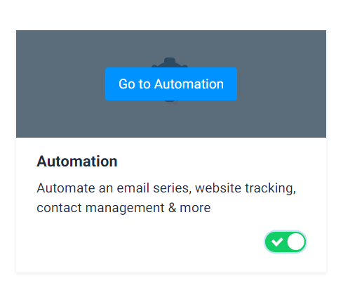Activer Marketing Automation Sendinblue